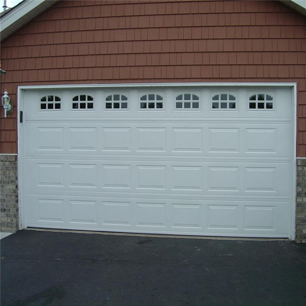 Beautiful design insulated steel garage door window insert for Insulated garage door window inserts