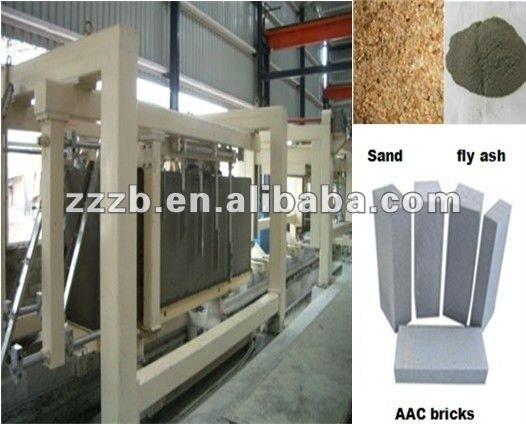 100,000 CBM/Y Automatic Flyash Block Making Machine with 100% Quality Guaranteed
