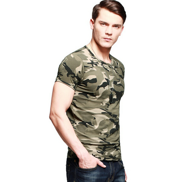 custom camo design military t shirt single jersey
