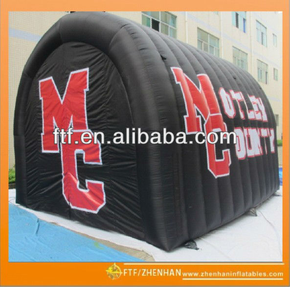 inflatable pirate tunnel/inflatable sports tunnels for kids
