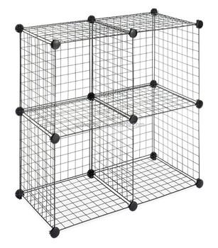 Vivinature Wire Storage Cubes With Black Color