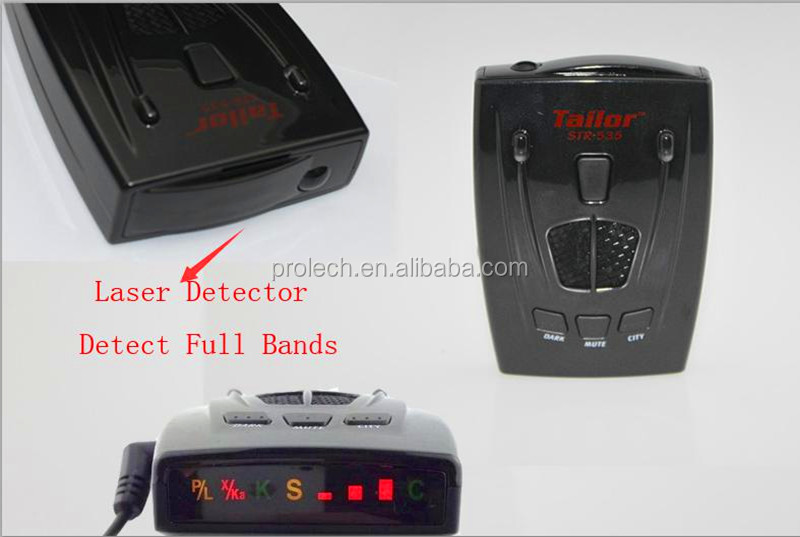 Anti Radar Detector Super design with X, K, Ka, Laser Super Wideband Detection STR535