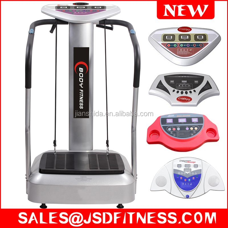 Home use Crazy <strong>Fitness</strong> 2000W 180 Speed Vibration Exercise Machine