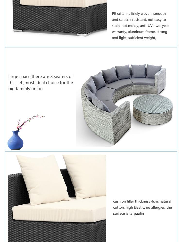 Garden Sofa For Outdoor Patio