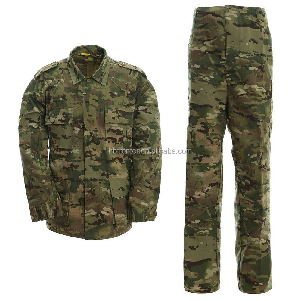 Government military and combat supply - cp multicam camouflage army uniform