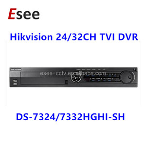 Hikvision hot-sale 32CH H.264 Turbo HD DVR support Audio & Alarm DS-7332HGHI-SH