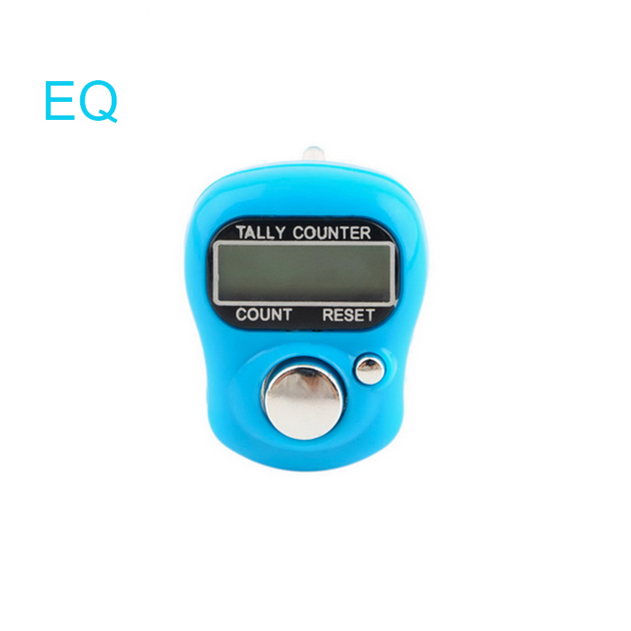 ASSORTED COLOUR Digital Digit  LCD Electronic Hand Finger Tally Counter