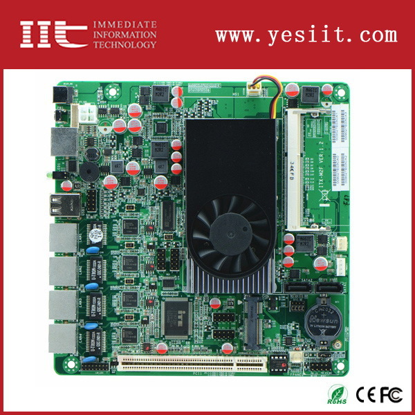 Customized Cheapest g41 motherboard for 6 lan ports