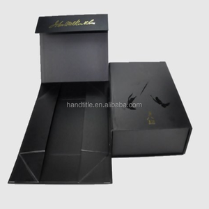 Custom Magnetic Gift Collapsible Paper Rigid Folding Box for Storage