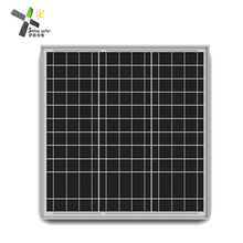 A Grade Photovoltaic Wafers 25w 30w 40w 12v Mono Poly Solar Panel For Home Rooftop