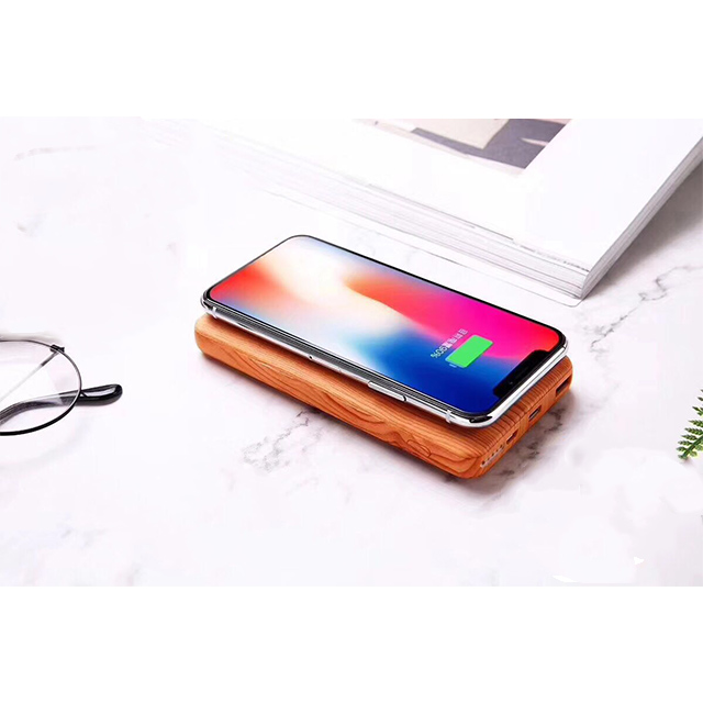2018 Factory Hot Selling New Design Oem Odm Abs Banco De Potencia 5000 Mah 3 In 1 Wireless Charger Power Bank