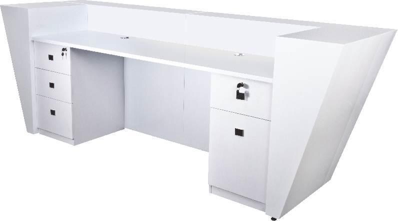 hot sale hotel reception desk white modern reception desk - Modern Reception Desk