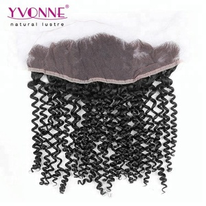 Overnight Shipping Malaysian Curly Illusion Thin Skin Lace Front Frontals