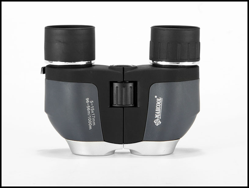 Marcool compact binoculars 5-15x17 long distance obversation binoculars for sale