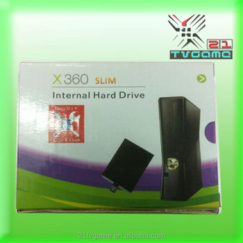 Inside 100% Original 320GB Hard Drive Disk Slim for XBOX 360 320G Slim Internal Hard Drive Black New Wholesale