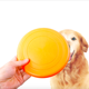 2019 New Style Colorful Silicone Flying Disc Dog Throwing Toys for training and Playing