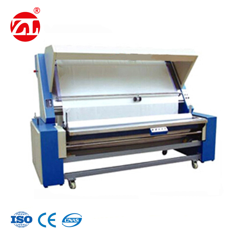 Edge Controlling Knitted Fabric Rolling Inspection Machine