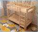 import material pine wooden bed european style simple modern strong big bearing bunk bed