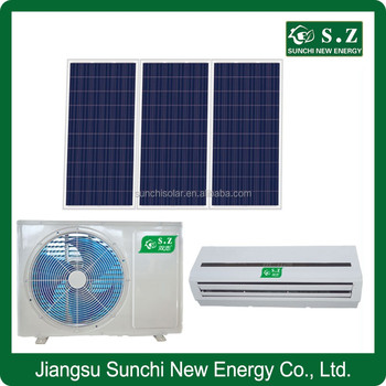 china professional ac dc 9000btu 12000btu hybrid solar air conditioner manufacturers buy. Black Bedroom Furniture Sets. Home Design Ideas