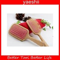 Fragrant handmade durable Wooden Hair Brush From YAESHII in 2016