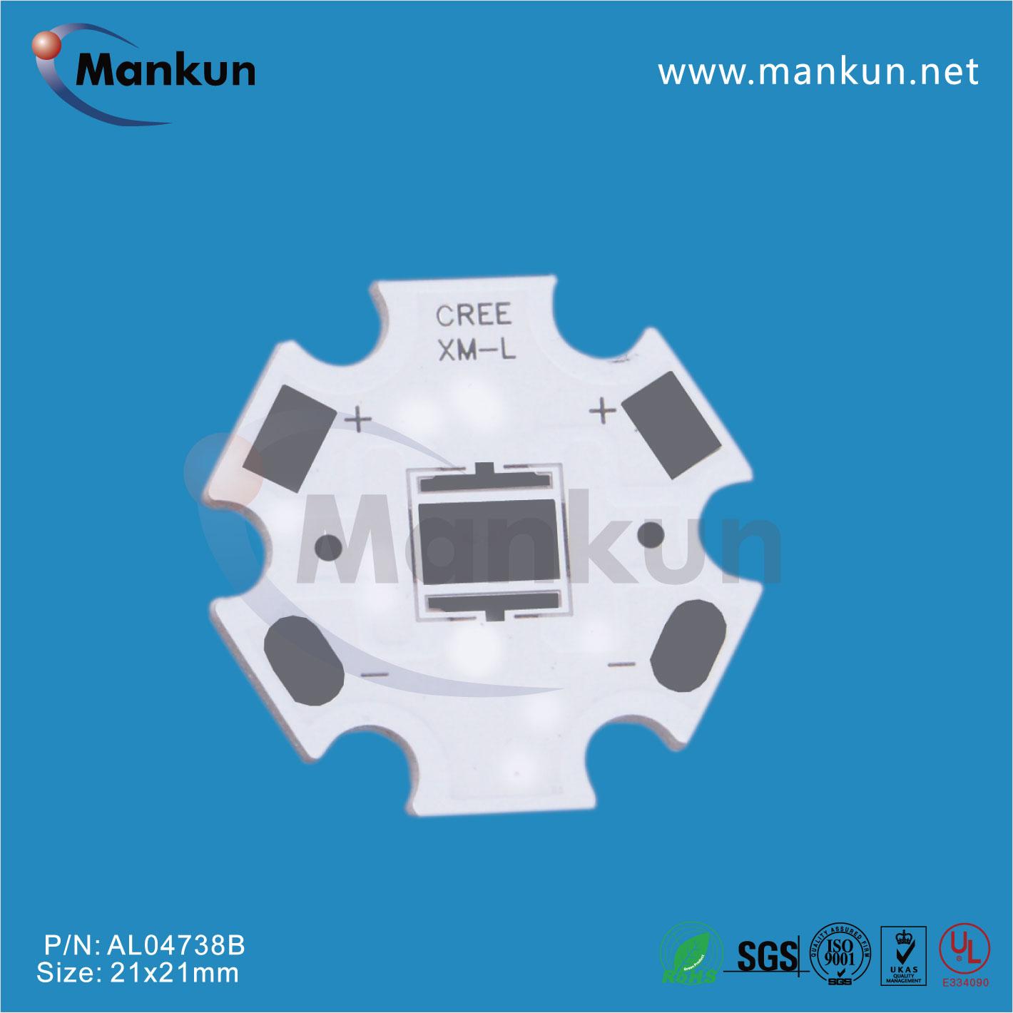 Wholesale mcpcb star PCB for CREE XML LED chip China PCB board ...