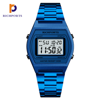 Most Popular Square watch Aliexpress LED Sports Watch Digital Wristwatch Quality Chinese Products Richports
