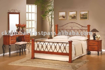 Bedroom Set,Metal Bed,Metal Bedroom Set,Home Furniture,Quality ...