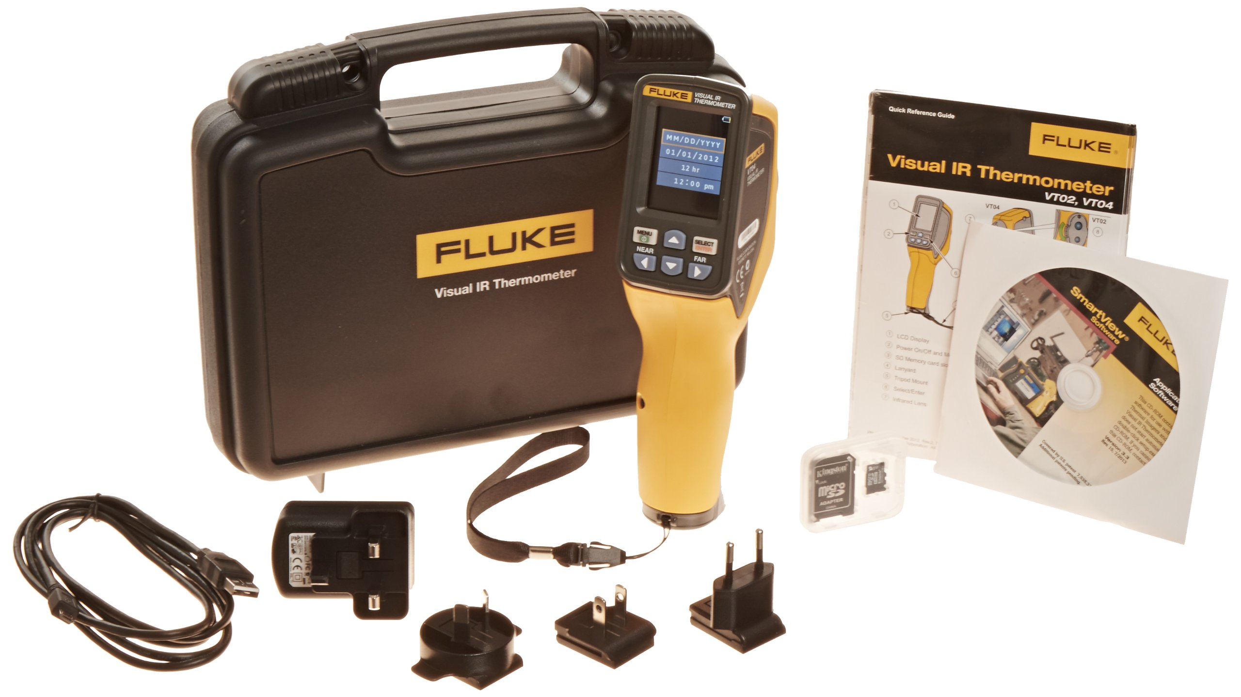 Fluke FLK-VT04-HVAC-KIT HVAC Kit for Visual Infrared Thermometer