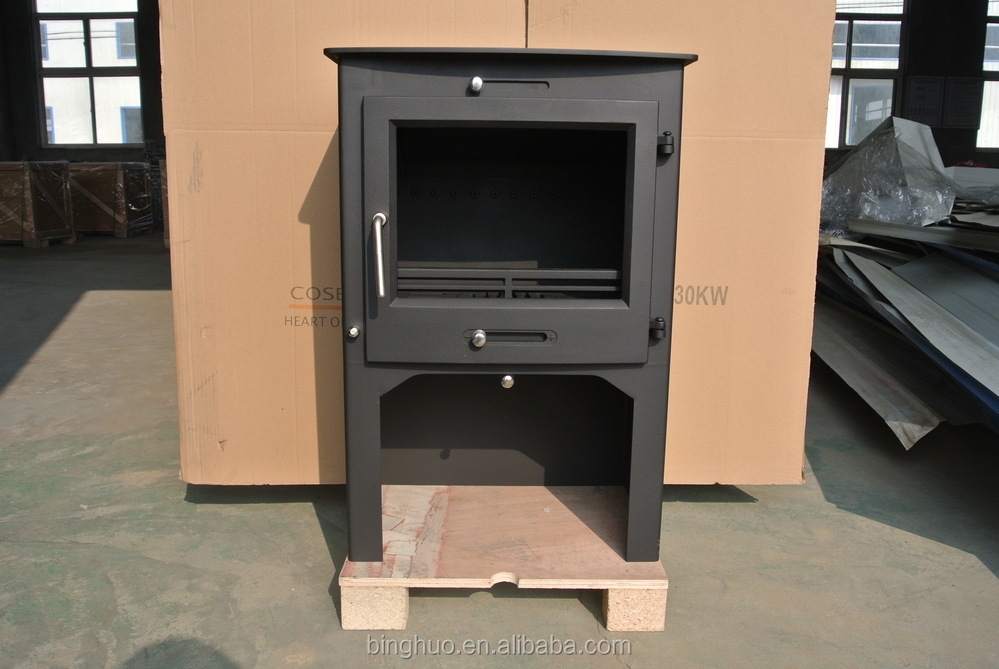 Steel Wood Stove With Tertiary Air System