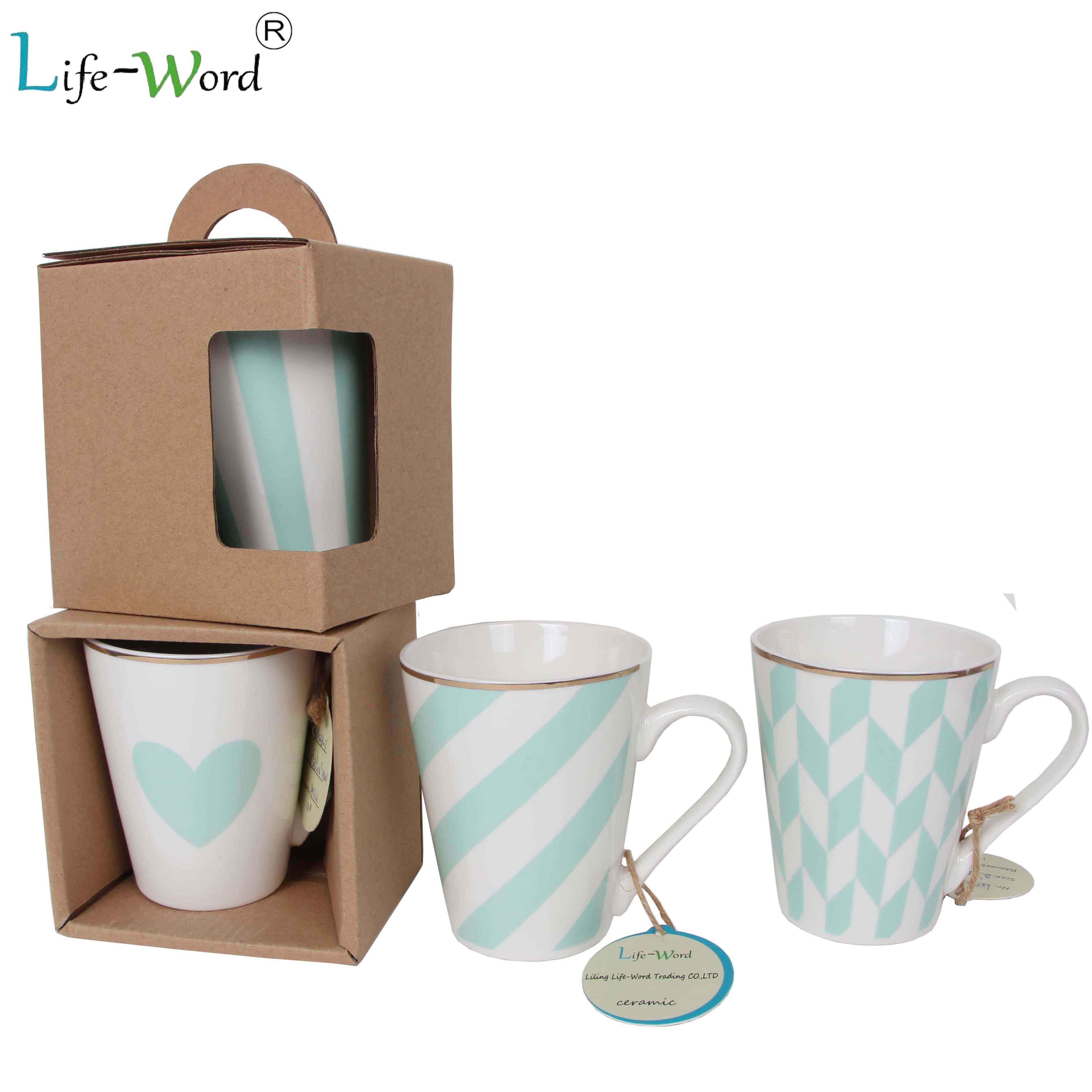 Promotional custom ceramic milk mug coffee mug