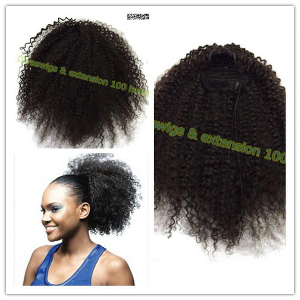 Parrucca capelli veri ricci