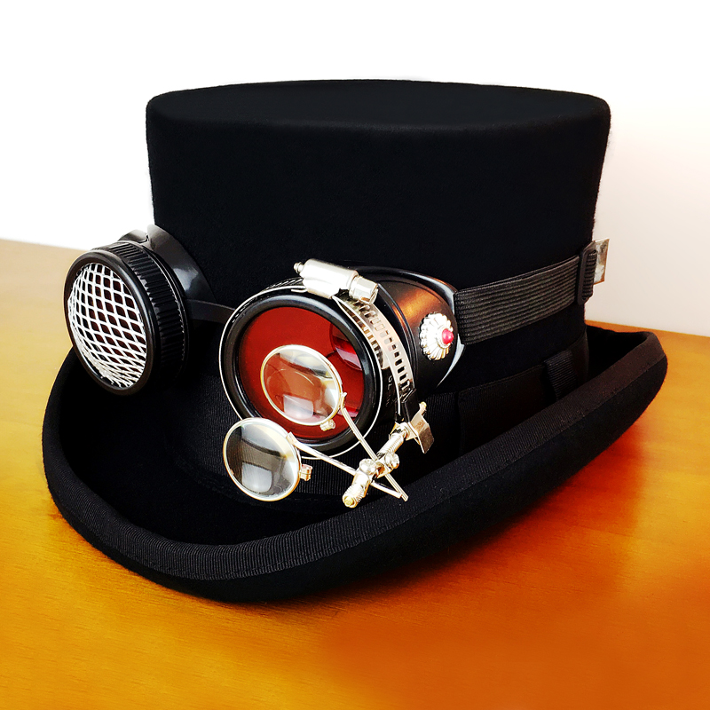 steam punk top hats