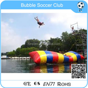 HI Top quality inflatable water catapult blob/water blob/water trampoline for sale