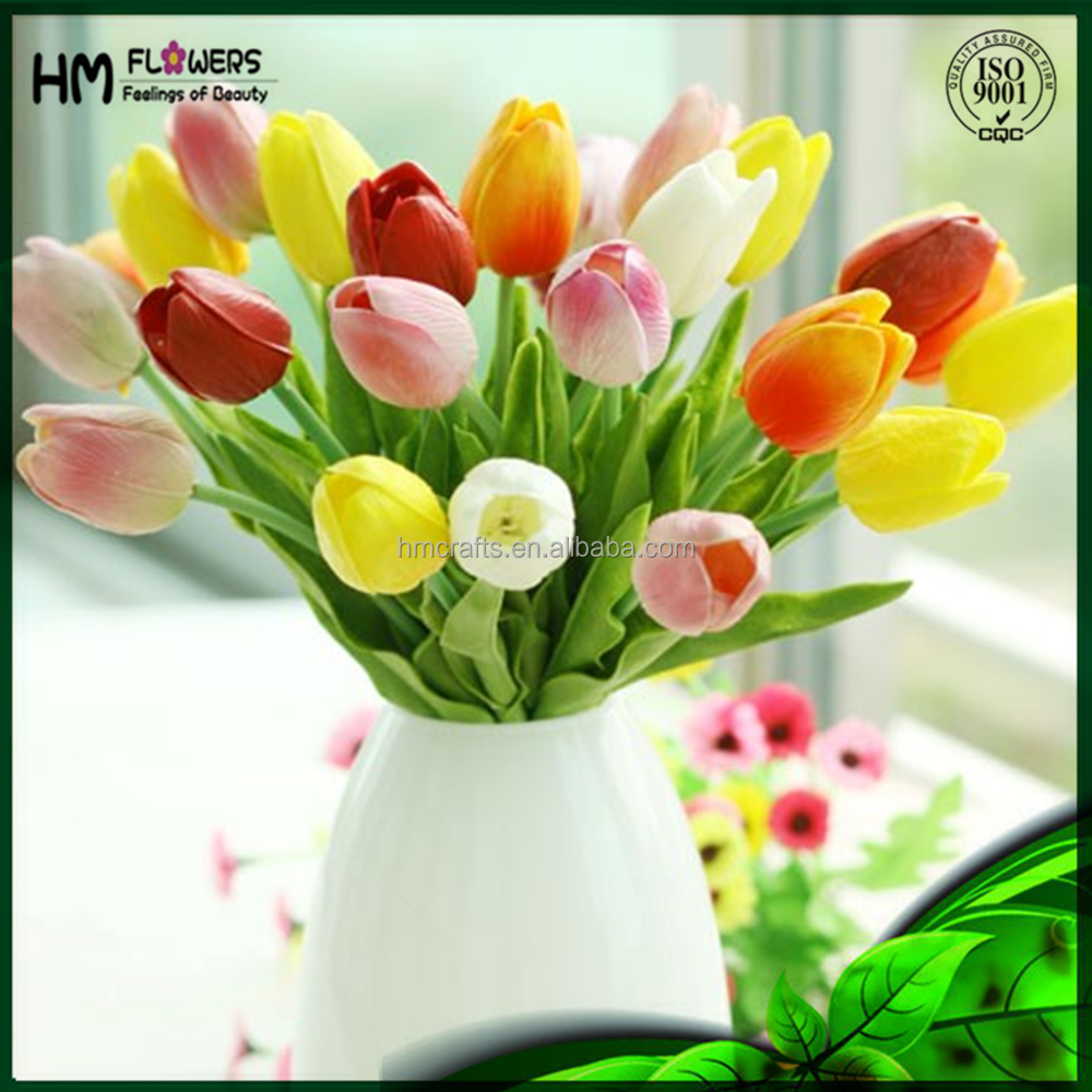 China Artificial Garden Flowers Artificial Tulip