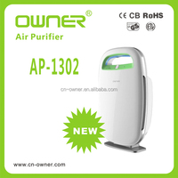 ionized home air purifier for export EU and USA market with certificate ,machine ozone generator