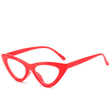 Кошачий глаз, близорукость, прозрачные очки, оправа для женщин, дизайнерские очки для зрения, оптическая оправа, черные, красные, розовые очк...(Китай)