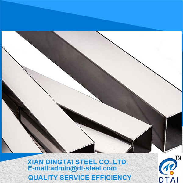 high quality corrosivity- resisting coal petroleum industry 304l steel square tube