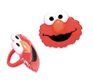 Buy Cakedrake Sesame Street Elmo Face 12 Cupcake Cake