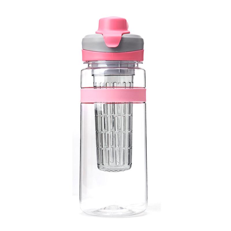 NEW 32oz plastic fruit infuser water bottle bpa free with joyshaker ball
