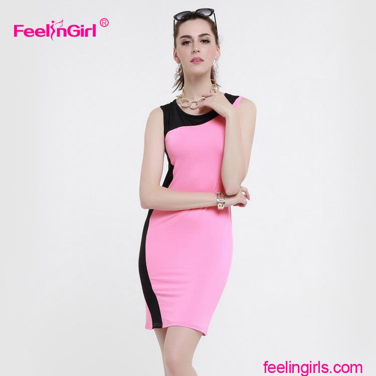 Venta al por mayor vestidos fiesta rosa clara precios-Compre online ...