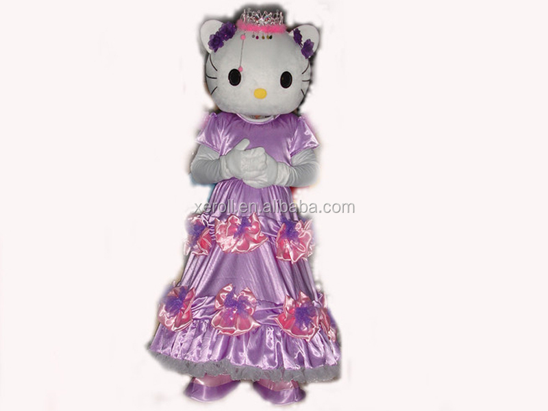 HI CE standard best design cheap cute hello kitty costume