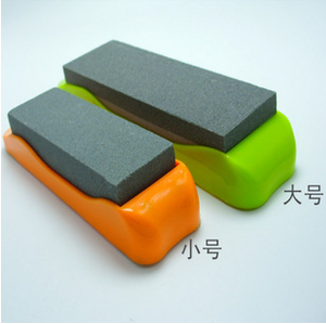 Most popular bamboo base 1000#6000# knife Sharpening stone in the whole world