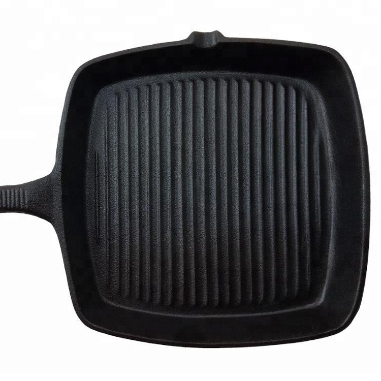 RK seasoned cast iron grill pan