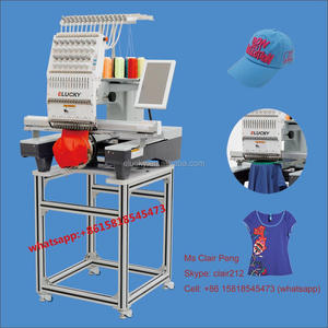 3D/cap/T-shirt embroidery used embroidery machine price