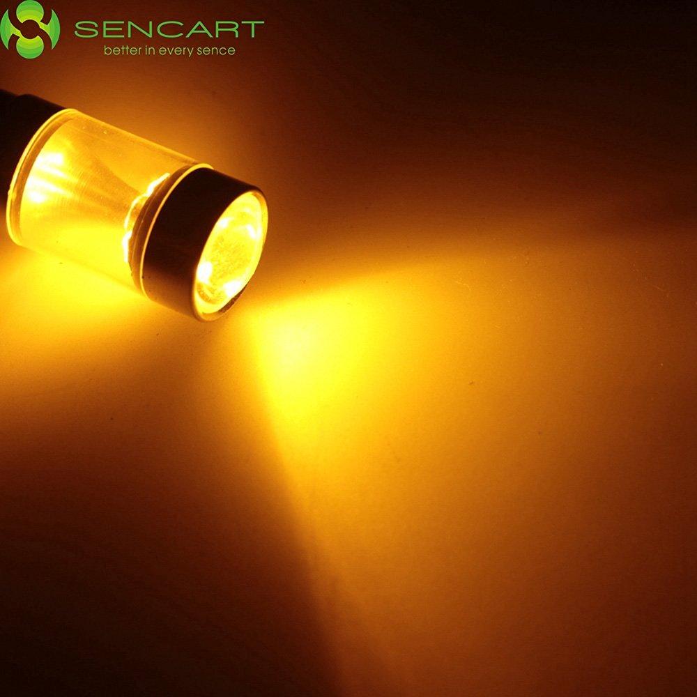 PyLios(TM)New Design Sencart T20 7440 W21W W3X16D 30W 6xCREE XP-E LED 2100LM 6500K Car Brake Light Reversing Lamp Turn Signal Light