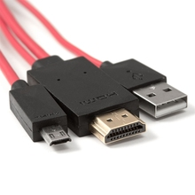 Micro USB to <span class=keywords><strong>HDMI</strong></span> Cable 어댑터 <span class=keywords><strong>HDTV</strong></span> 대 한 All Devices