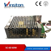 HOT Sell SC-60-12 60W 4A 12v automatic power supply