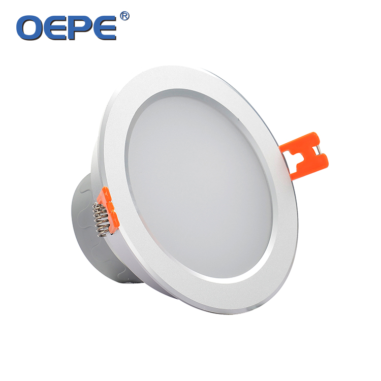 195mm 6 Inch Led Downlight With 160mm Cut Out ceiling down light 18w