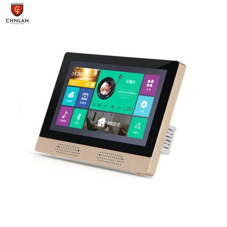 N7A Home Wifi Background Sound Speaker System Wall Install Touch Screen tablet Smart Music <strong>Player</strong>