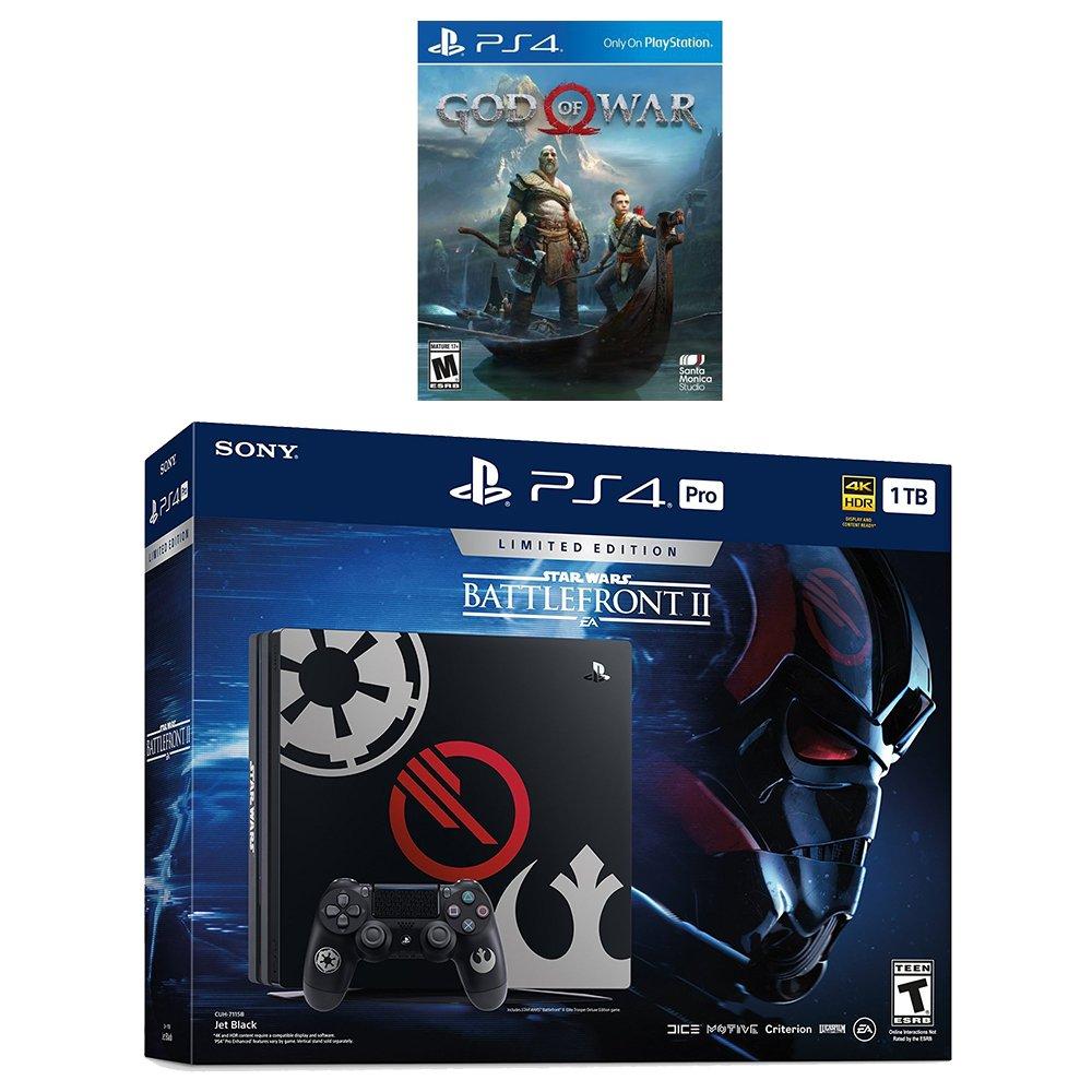 Buy Playstation 4 God Of War Deluxe Bundle 2 Items Pro Black 1tb